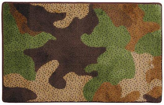Camouflage  bathroom Bathroom Rug