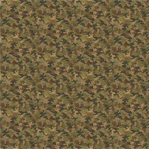 Camouflage  bathroom Shower Curtain