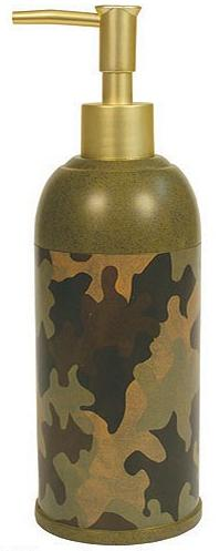 Camouflage  bathroom Soap/Lotion Dispenser Pump