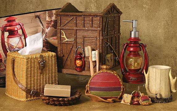 Pine Cone Lodge Decor And Cabin Accessories Camping