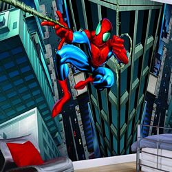 Spider-Man Mural Full Wall Mural BZ9121MRoom Shot