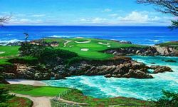 Cypress Point Mural Full Wall Mural RA0155M Cypress Point Mural Full Wall Mural RA0155M