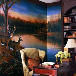 Tranquil Evening Mural Full Wall Mural RA0169MRoom Shot
