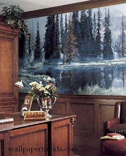 Gone Fly Fishing Wall Mural