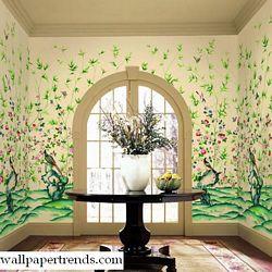 Document Scenic MuralFull Wall MuralWU0877MRoom Shot
