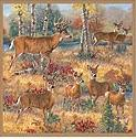 Deer Lodge bathroom shower curtains