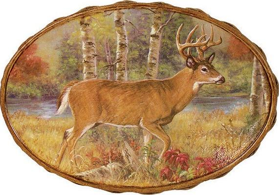 Deer Lodge bathroom soap dish