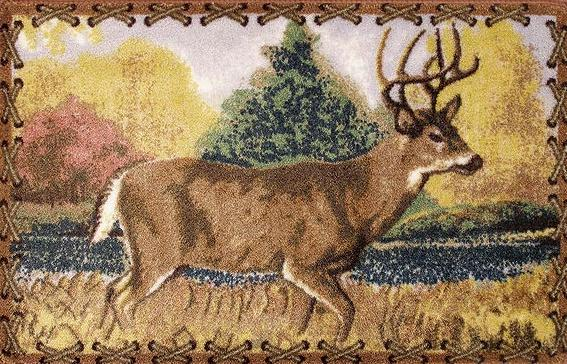 Deer Lodge  bathroom Bathroom Rug