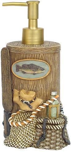 Fishing Lodge  bathroom Soap/Lotion Dispenser Pump