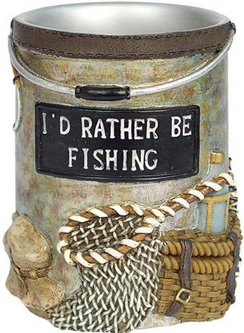 Fishing Lodge  bathroom Cup Tumbler