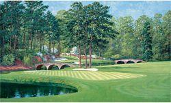 Golfer's Paradise MuralChair Rail Wall MuralUR2052MGolfer's Paradise MuralChair Rail Wall MuralUR2052M