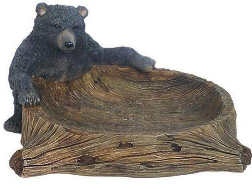 Great Bear Lodge bathroom soap dish