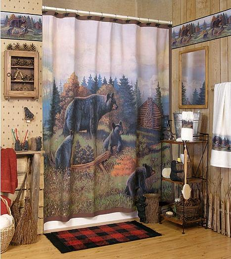 Great Bear Lodge bathroom accessories gallery