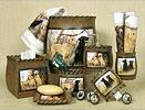 Hunting Dogs bathroom vanity accessories