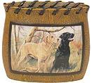 Hunting Dogs bathroom toothbrush holder