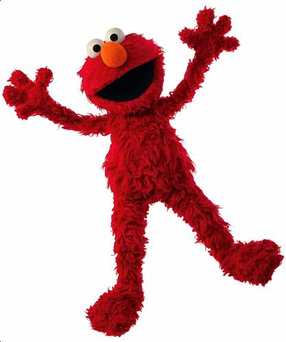 Sesame Street's Elmo Wants a Hug Die Cut Out Wall Mural