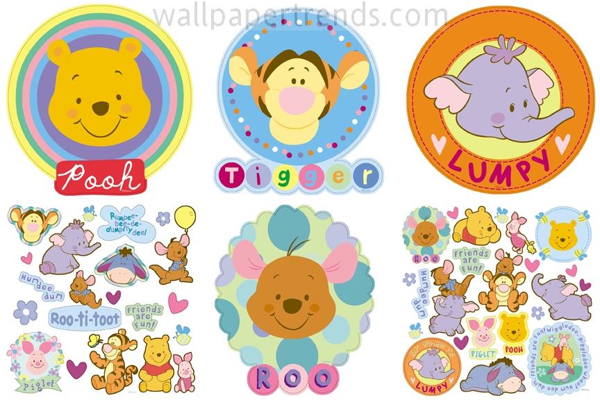 Winnie the Pooh, Tigger, Lumpy & Roo