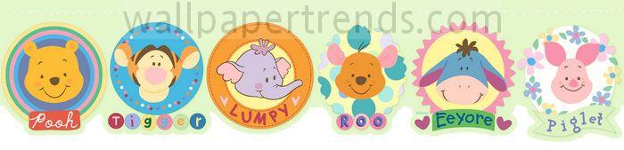 Winnie the Pooh, Piglet, Tigger, Eeyore, Lumpy & Roo