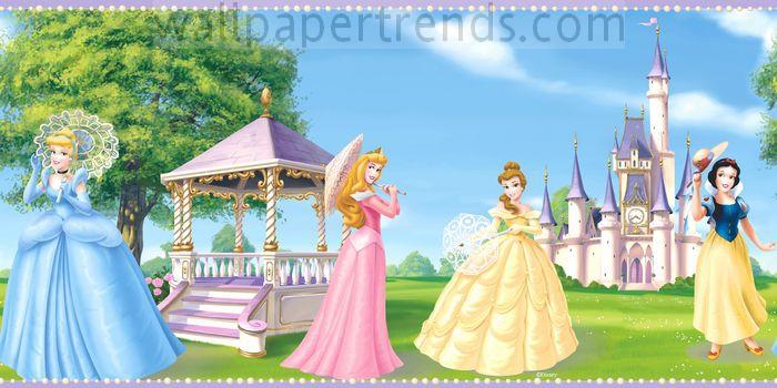 Cinderella, Aurora, Belle & Snow White