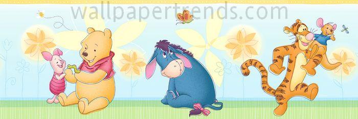 Winnie the Pooh, Piglet, Tigger, Eeyore & Roo
