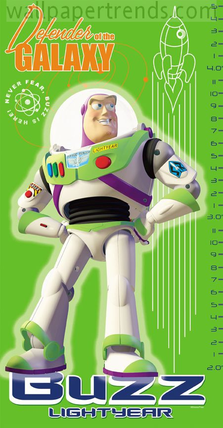 Buzz Lightyear from Disney Pixar's Toy Story