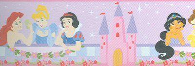 Ariel/Little Mermaid, Cinderella, Snow White, Jasmine, Belle, Aurora/Sleeping Beauty
