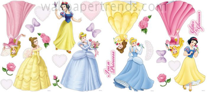 Cinderella, Aurora/Sleeping Beauty, Snow White & Belle