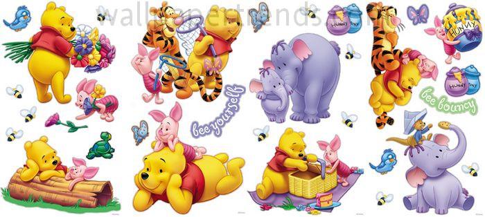 Winnie the Pooh, Tigger, Eeyore, Piglet & Rabbit