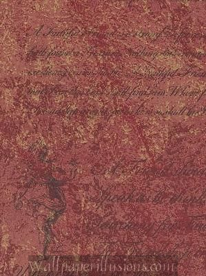 paper illusions florentine script illusion tuscan red 5812295