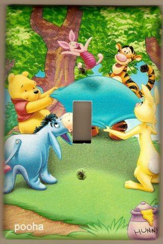 Winnie the Pooh, Eeyore, Tigger, Piglet & Rabbit