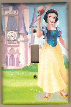 Snow White Switchplate