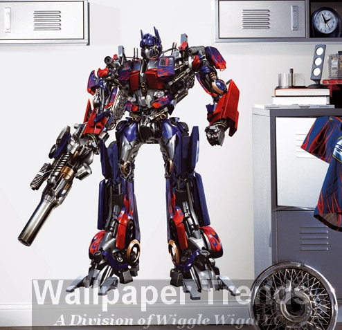 Transformers Wallpaper Mural
