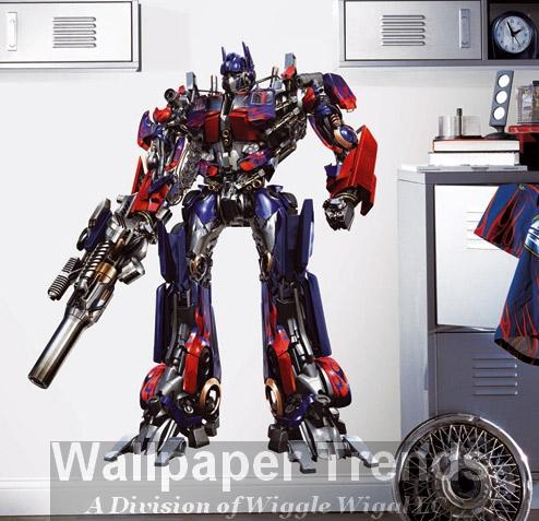 wallpaper transformers. Transformers Wallpaper Mural