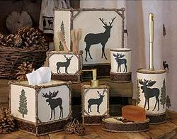 lodge and cabin accessories moose cabin decor
