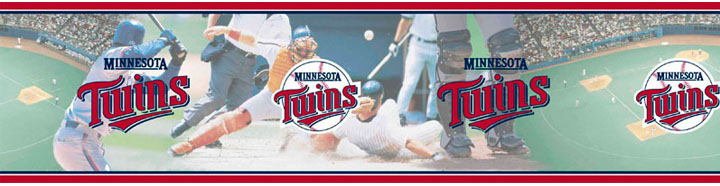 Minnesota Twins Wall Borders 5815402