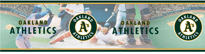 Oakland Athletics Wall Borders 5815404