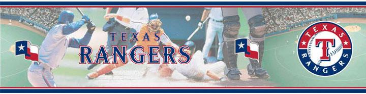 Texas Rangers Wall Borders 5815407