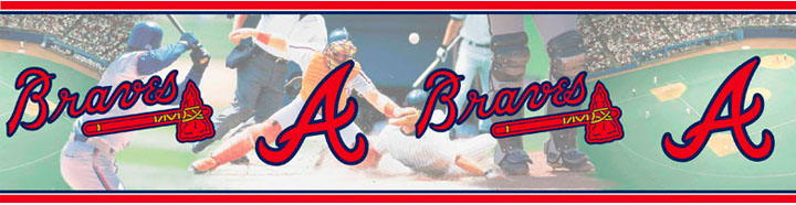 Atlanta Braves Wall Borders 5815410