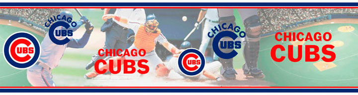 Chicago Cubs Wall Borders 5815411