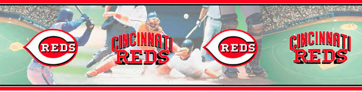 Cincinnati Reds Wall Borders 5815412