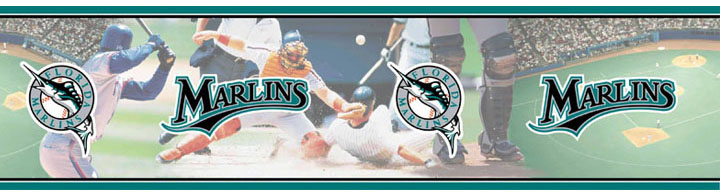 Florida Marlins Wall Borders 5815414