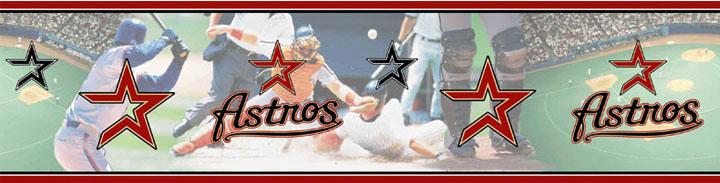 Houston Astros Wall Borders 5815415