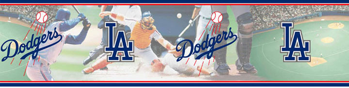 Los Angeles Dodgers Wall Borders 5815416