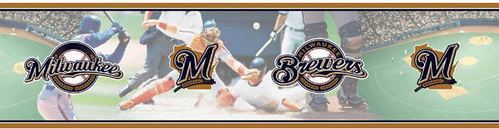 Milwaukee Brewers Wall Borders 5815417