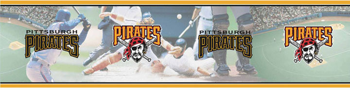 Pittsburgh Pirates Wall Borders 5815420 title=