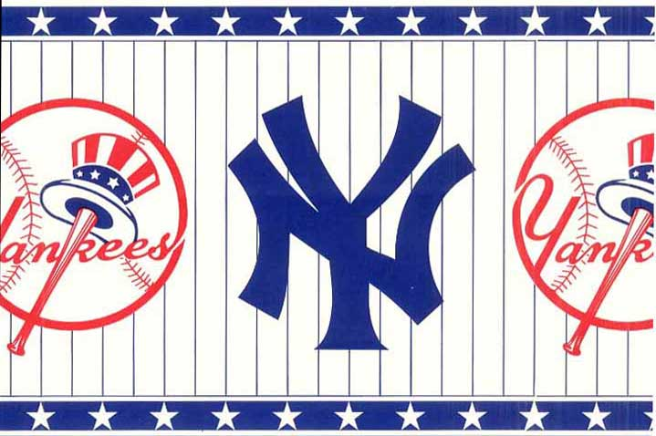 New York Yankees Wall Borders 594311