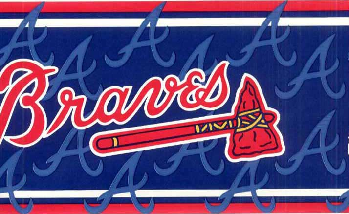 Atlanta Braves Wall Borders FB075251B title=