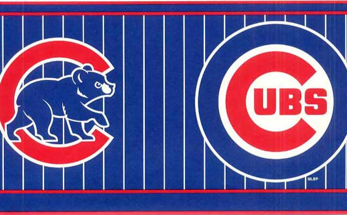 Chicago Cubs Wall Borders FB075291B title=