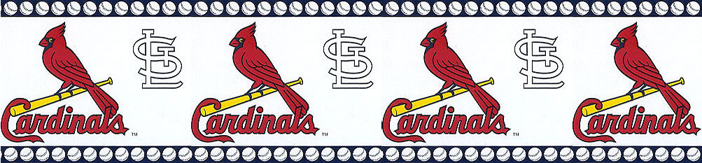 St. Louis Cardinals Wall Borders 594685