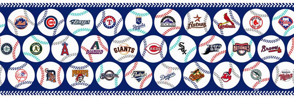 MLB Teams Grand Slam Wall Borders 595245
